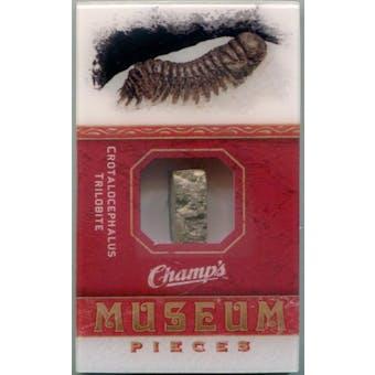 2009/10 Upper Deck Champ's Museum Pieces Crotalocephalus Trilobite (Reed Buy)