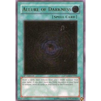 Yu-Gi-Oh Phantom Darkness Single Allure of Darkness Ultimate Rare - SLIGHT PLAY (SP)
