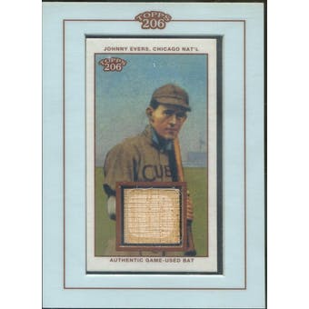 2002 Topps 206 Relics #JEV Johnny Evers Bat (Reed Buy)