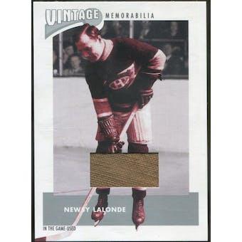 2002/03 ITG Used Vintage Memorabilia #VM1 Newsy Lalonde (Reed Buy)