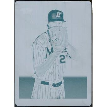 2009 Topps 206 Cyan Printing Plate #260 Andrew Miller 1/1 (Reed Buy)