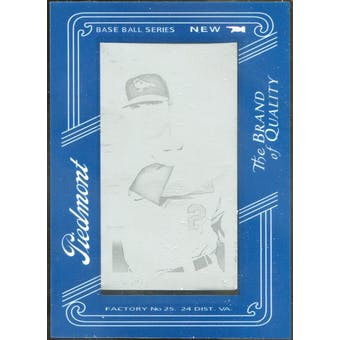 2009 Topps 206 Mini Framed Printing Plates Black #105 Lou Montanez 1/1 (Reed Buy)