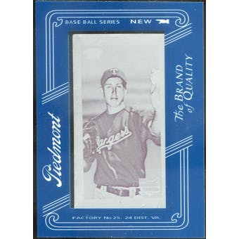 2009 Topps 206 Mini Framed Printing Plates Magenta #61 Derek Holland 1/1 (Reed Buy)