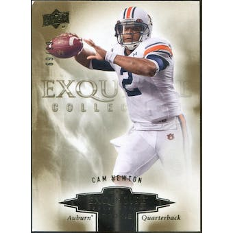 2010 Exquisite Collection Draft Picks #ERCN Cam Newton #/99 (Reed Buy)