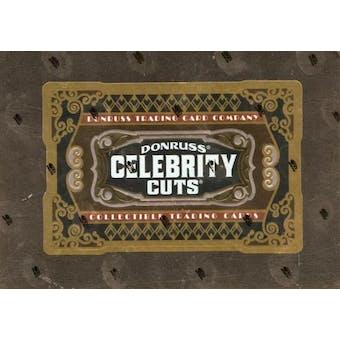 2008 Donruss Americana Celebrity Cuts Hobby Box
