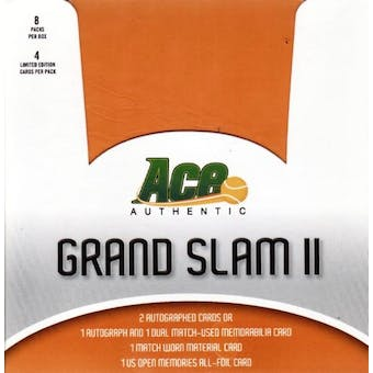 2007 ACE Grand Slam II Tennis Hobby Box