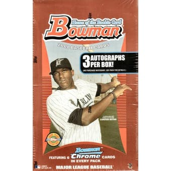 2008 Bowman Baseball Jumbo Box