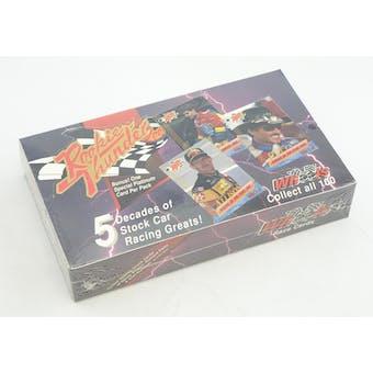 Wheels Rookie Thunder Racing Hobby Box (1993 Press Pass) (Reed Buy)