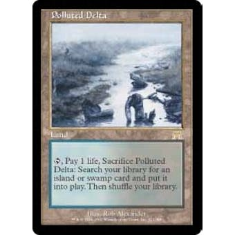 Magic the Gathering Onslaught Single Polluted Delta - SLIGHT PLAY (SP) Sick Deal Pricing