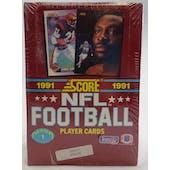 1991 Score Series 1 Football Wax Box (Reed Buy)
