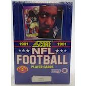 1991 Score Series 2 Football Wax Box (Reed Buy)