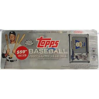 2009 Topps Baseball Factory Set Retail Box (Target) (Mickey Mantle Edition)