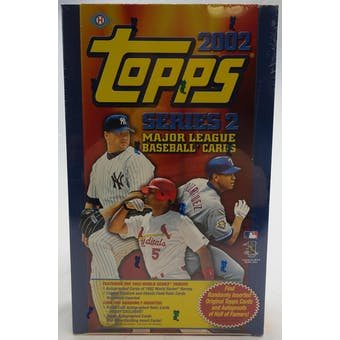 2002 Topps Series 2 Baseball Hobby Box (Reed Buy)