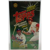 2000 Topps Series 2 Baseball Jumbo Box (Reed Buy)