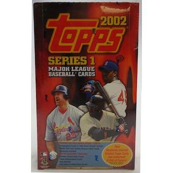 2002 Topps Series 1 Baseball Hobby Box (Reed Buy)