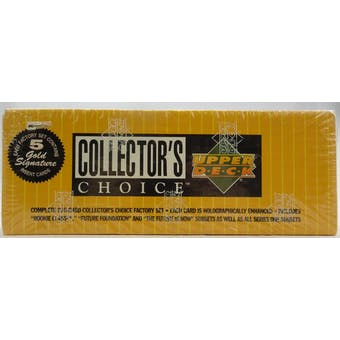 1994 Upper Deck Collector's Choice Baseball Factory Set (Reed Buy)