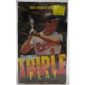 1992 Donruss Triple Play Baseball Hobby Box (Reed Buy)
