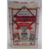 1993 Donruss Series 2 Baseball Hobby Box (Reed Buy)