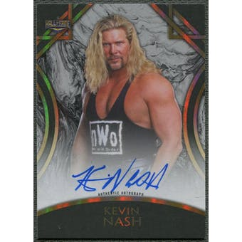 2018 Topps Legends of WWE #AKN Kevin Nash Black Auto #2/5