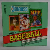 1993 Donruss Series 1 Baseball Hobby Box (Reed Buy)