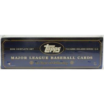 2002 Topps Baseball HTA Factory Set (Box) (Blue) (Reed Buy)