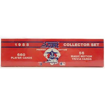 1988 Score Baseball Factory Set (Reed Buy)