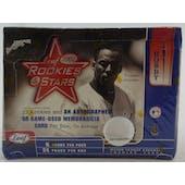 2002 Leaf Rookies & Stars Baseball Hobby Box (Reed Buy)
