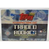 2000 Topps Traded & Rookies Baseball Factory Set (Box) (Reed Buy)