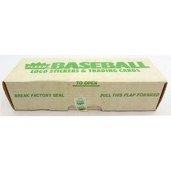 1988 Fleer Baseball Factory Set (Reed Buy)