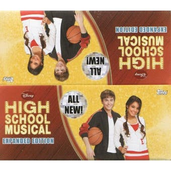 High School Musical Expanded Edition Hobby Box (2008 Topps)