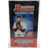 2005 Bowman Baseball Jumbo Box (Reed Buy)