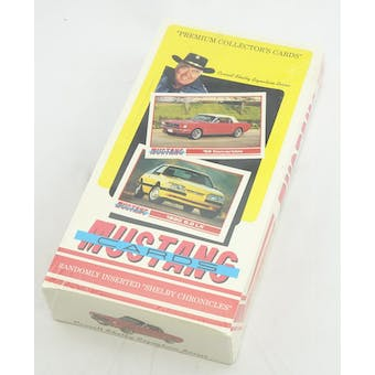 Mustang Collector Card Box (Reed Buy)