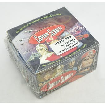 Captain Scarlet 36-Pack Box (Reed Buy)