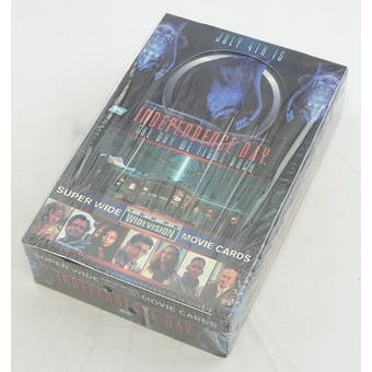 Independence Day Widevision Movie Cards Box (Reed Buy)