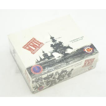 WWII Grateful Nation Remembers Trading Cards 24-Pack Box (Reed Buy)