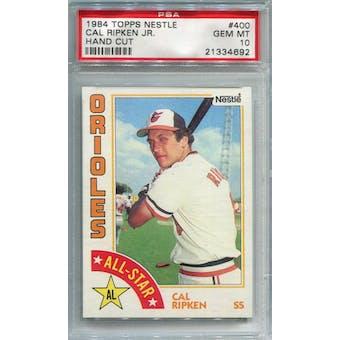 1984 Topps Nestle #400 Cal Ripken Jr AS PSA 10 *4692 (Reed Buy)