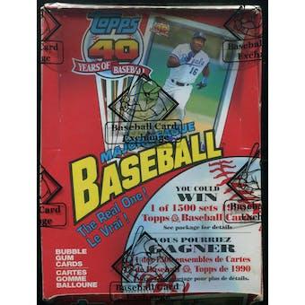 1991 O-Pee-Chee Baseball Wax Box (BBCE)