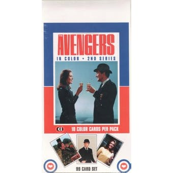 Avengers in Color Hobby Box (1993 Cornerstone)