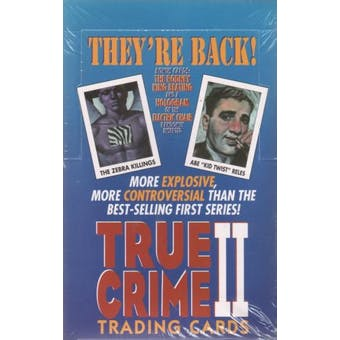 True Crime Series 2 Hobby Box (1992 Eclipse)