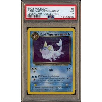 Pokemon Legendary Collection Dark Vaporeon 9/110 PSA 7