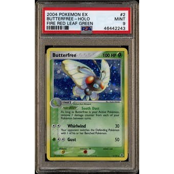 Pokemon EX FireRed LeafGreen FRLG Butterfree 2/112 PSA 9