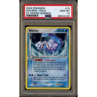 Pokemon EX Hidden Legends Walrein 15/101 PSA 10 Gem Mint