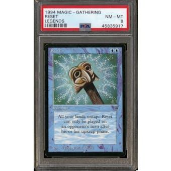 Magic the Gathering Legends Reset PSA 8