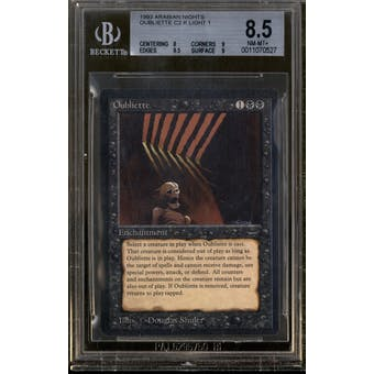 Magic the Gathering Arabian Nights Oubliette (Light) BGS 8.5 (8, 9, 9.5, 9)