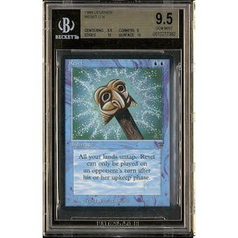 Magic the Gathering Legends Reset BGS 9.5 (9.5, 9, 10, 10)