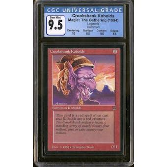 Magic the Gathering Legends Crookshank Kobolds CGC 9.5 Gem Mint Q+