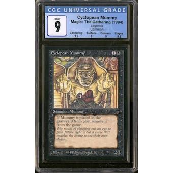 Magic the Gathering Legends Cyclopean Mummy CGC 9 Q++