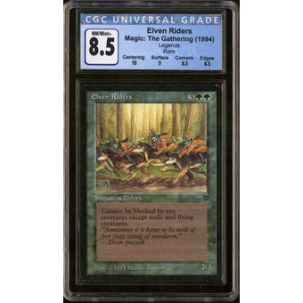 Magic the Gathering Legends Elven Riders CGC 8.5