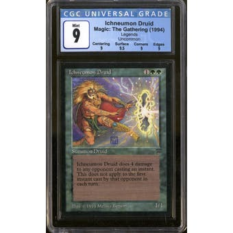 Magic the Gathering Legends Ichneumon Druid CGC 9
