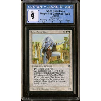 Magic the Gathering Legends Ivory Guardians CGC 9